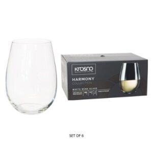 HARMONY STEMLESS W/WINE S/6 500ML