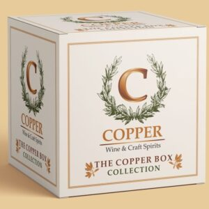 The Copper Two Bottle Wine Box