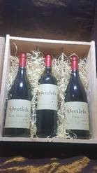 Deetlefs Three Bottle Wine Box