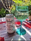 Chicago Gin Apple Cocktail